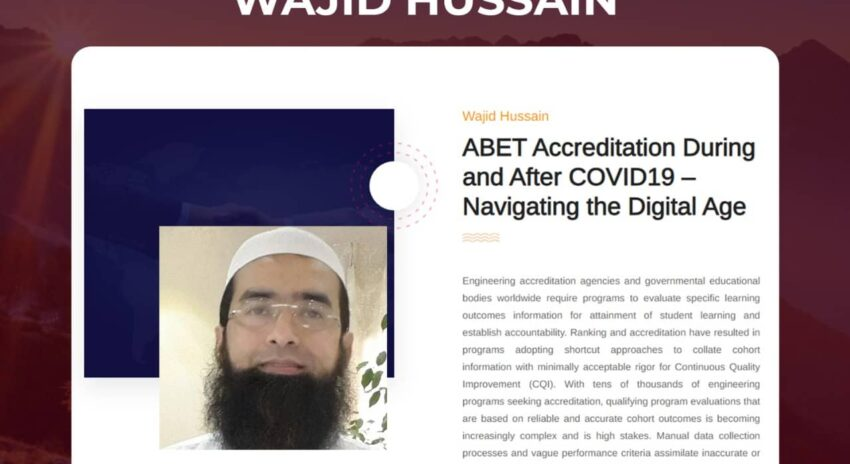 ABET Accreditation During and After COVID19 – Navigating the Digital Age
