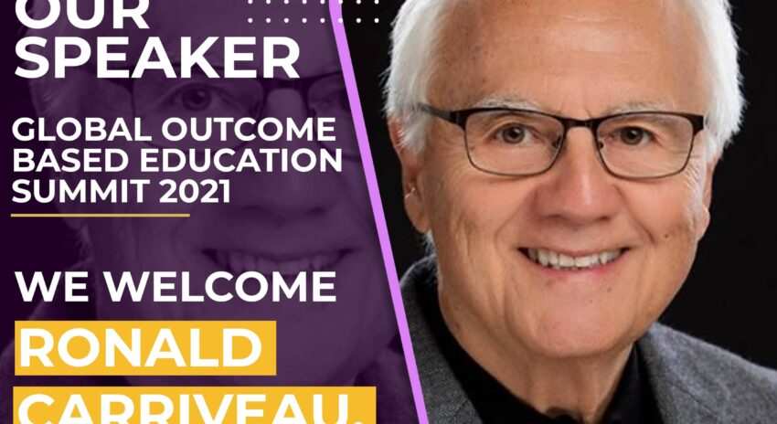 We Welcome Ronald Carriveau Assessment and Evaluation Global Expert as IN4OBE's Distinguish Speaker